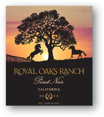2013 Royal Oaks Ranch Pinot Noir
