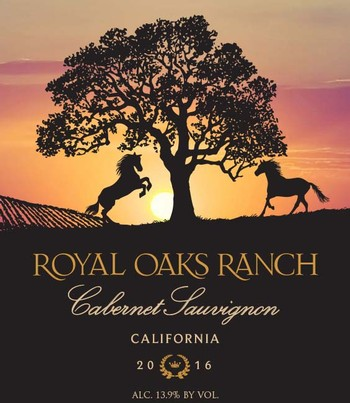 2016 Royal Oaks Ranch Cabernet Sauvignon CA